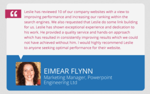 Website Review Audit Testimonial