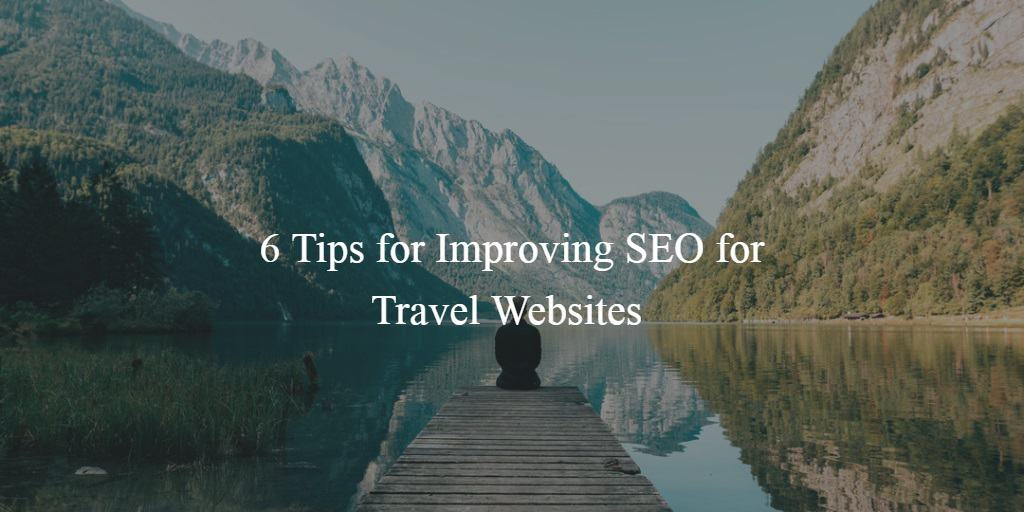 how to improve SEO for travel websites